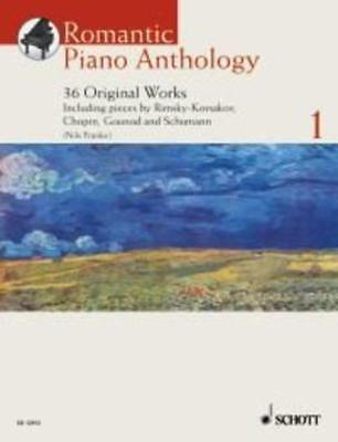 Romantic Piano Anthology Book 1 Book & Cd