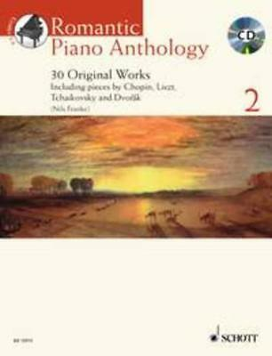 Romantic Piano Anthology Book 2 Book & Cd