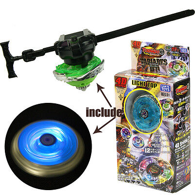 1set boy toys fight against Beyblade Spinning Gyroscopes Light up top & Launcher