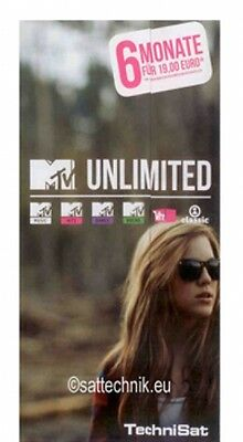 MTV unlimited Ticket für 6 Monate - Art.0180/4515