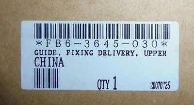 Genuine Canon FB6-3645-030 Upper Guide CLC IRC 3200 3220 2620 C-EXV8