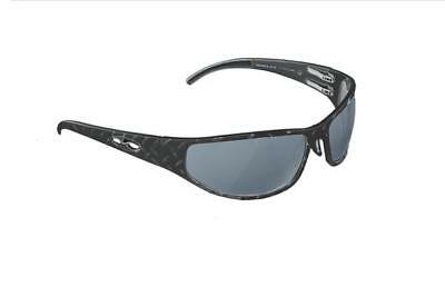 NEW ICICLES Baggers Diamond Smoke Mirror Lens Sunglasses with Matte Black Frame