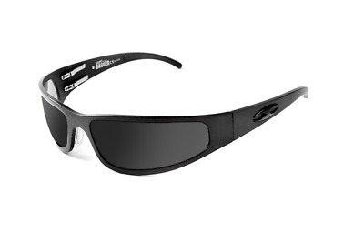 NEW ICICLES Baby Bagger Smoke Mirror Lens Sunglasses with Black Flat Frame