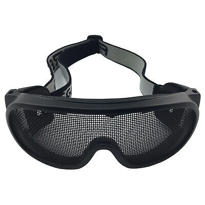 Mesh Safety Goggles - Fortress - Positive Foam Seal – 1 each - Hampdon - 887MB