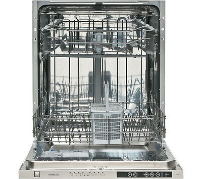 KENWOOD KID60S15 Full-size Integrated Dishwasher Silver 12 Place Settings