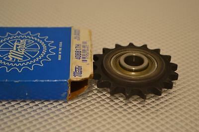 One New Martin Idler Sprocket 40Bb17H.