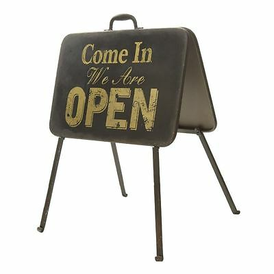 Open Closed Standing A Frame Style Shop Sign