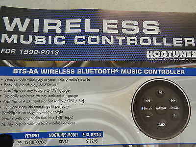 """hogtunes"" Rpl In Fairing Harley-Davidson Bt Bluetooth Wireless Music Controller"