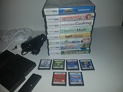 Nintendo DS Game Lot of 14 Games with Accessories