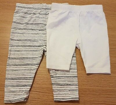 Baby Girls 0-3 Months Leggings White Mothercare