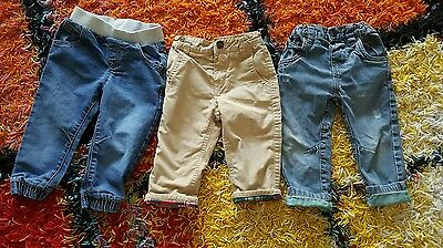 Gap Primark F&F JEANS/TROUSERS Size 12-18 months bundle