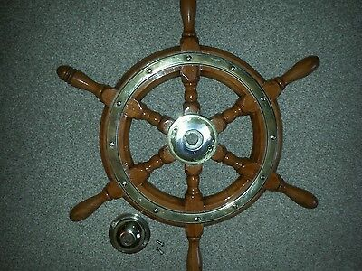 Old Simpson Lawrence ships wheel