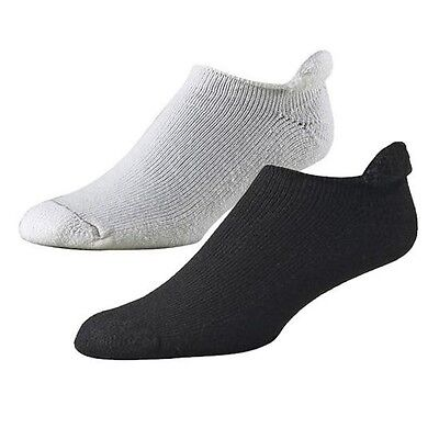 FootJoy Comfortsof Roll Top Mens Socks WHITE/CREAM - 1 Pr Shoe Size 7-12