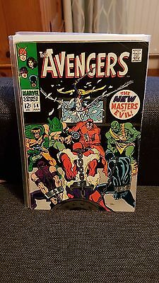 Avengers 54 1st appearance of Ultron VG+