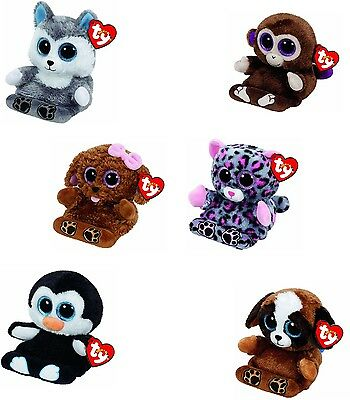 Peek a Boo TY Beanie Phone Holder With Screen Cleaner cute cuddly beanies