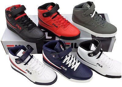 6fd0d55e83b0 FILA MEN S VULC 13 Mid Leather Mid High Top Casual Athletic Shoes ...