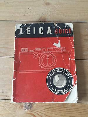 Original 1952 Leica Camera Guide Printed by Focal Press, UK