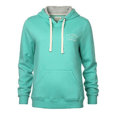 Saltrock Womens Pop Over Hoodie Surf Casual Turquoise New Various Sizes