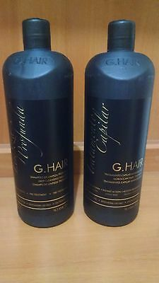 Ghair Inoar Moroccan Brazilian Keratin Treatment Blowout Hair Straightening 1Lt