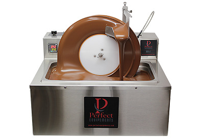45Lb Per Batch - Prefect Chocolate Tempering  Mini Wheel Tempering Air-2.0