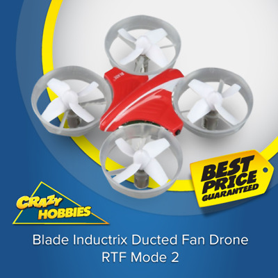 Blade Inductrix Ducted Fan Drone, RTF Mode 2