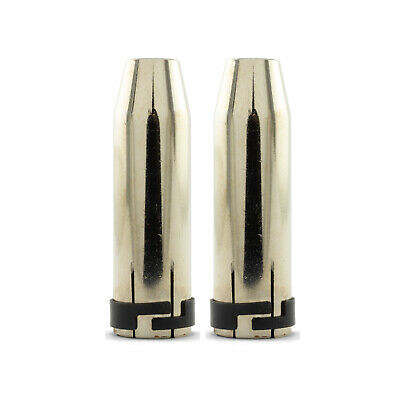 MIG Nozzle / Shroud  - MB36 -Tapered - Binzel Style - 2 Pack - Premium Parweld