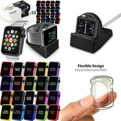 Orzly ULTIMATE PACK for Apple Watch (42 MM) - Gift Pack Includes Compact...