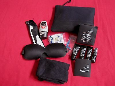 Qantas First Class Mens Amenity Kit By Martin Grant Aspar Products Included