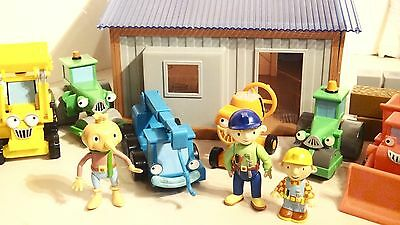 Bob The Builder Deluxe Workshop Toy Playlet