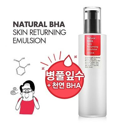 [COSRX] Natural BHA Skin Returning Emulsion 100ml / Korean Cosmetics