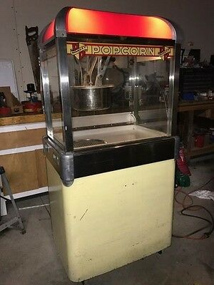Manley Popcorn machine model  26