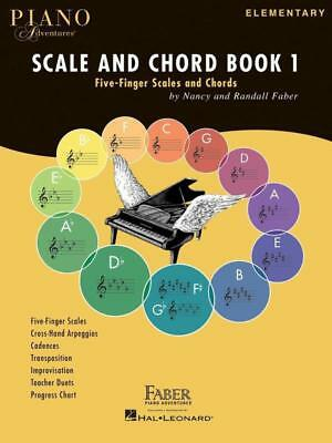 Faber Piano Adventures Scale and Chord Book 1 - Five-Finger Scales and Chords