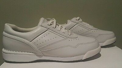 ☆NEW☆ Rockport Women's W7104M Prowalker Leather Walking Shoes SZ 7 White Lace up