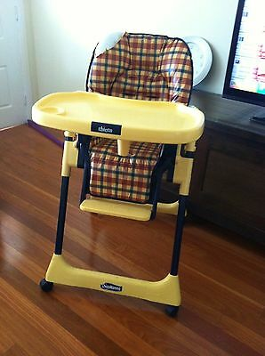 Chicco Mamma High Chair - as bright as the day we bought it!