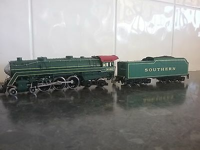 H O mehano southern loco and tender
