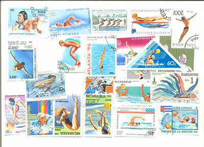 Swimming-Sport-50 all different collection-