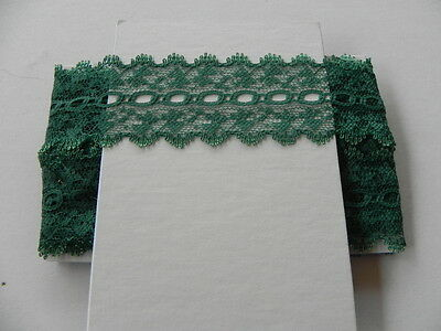Card of New Knit Lace - Green