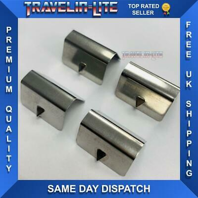 Wind Deflector Clips For Heko / Aftermarket Great Quality 4pcs Brand New