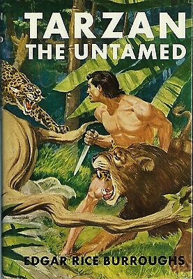 Tirage Grosset & Dunlap 1950 Edgar Rice Burroughs : Tarzan The Untamed