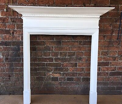 Beautiful Original Antique Cast Iron Fire Surround Suit Stove woodburner DEL £25