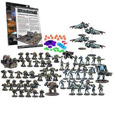 WARPATH OPERATION HERACLES 2 players mega battle set MANTIC gioco di miniature s