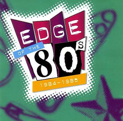 EDGE OF THE 80's - 1984 - 1985 / VARIOUS ARTISTS  -  2 CD SET