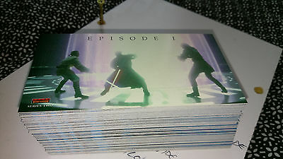 Star Wars The Phantom Menace Widevision Card Set Series 2