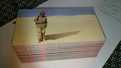 Star Wars The Phantom Menace Widevision Card Set Series 1