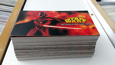 Star Wars Revenge Of The Sith Widevision Card Set