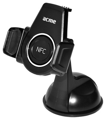 ACME MH05 Universal Car Mount with Suction Cup        black NEW