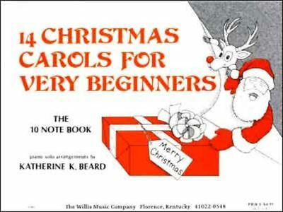 14 Christmas Carols For The Very Young Beginner