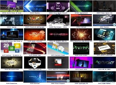 100 Adobe After Effects - Videos Effects Bundle - $1 per video special effects