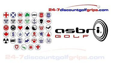 Asbri Golf Ball Stampers Free Post
