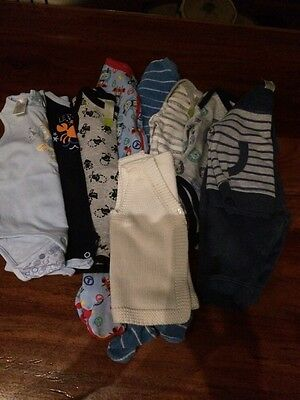 Bulk Baby Boy Clothes Size 00